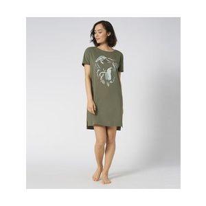 Triumph Nočná košeľa Ndk 10 X 10207555 Zelená vyobraziť