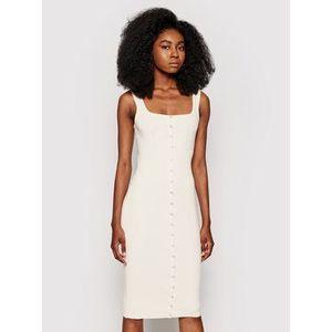 Guess Letné šaty Lana W1YK08 R2BF4 Béžová Slim Fit vyobraziť
