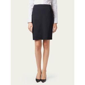 Boss Puzdrová sukňa Vilea 50291813 Tmavomodrá Slim Fit vyobraziť