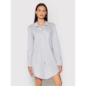 Hanro Nočná košeľa Deluxe 7958 Modrá vyobraziť