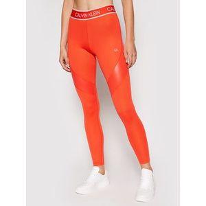 Calvin Klein Performance Legíny 00GWT1L663 Oranžová Slim Fit vyobraziť