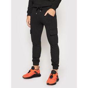 Alpha Industries Teplákové nohavice Terry Jogger 116204 Čierna Regular Fit vyobraziť