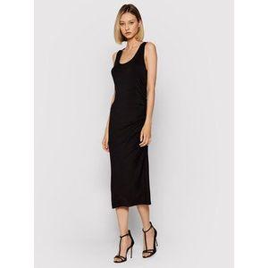 DKNY Letné šaty DD1CL727 Čierna Regular Fit vyobraziť
