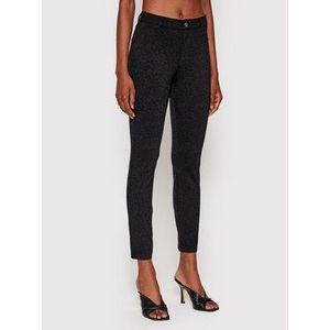 Guess Bavlnené nohavice Sexy Curve W1YAJ3 KAQA2 Čierna Skinny Fit vyobraziť