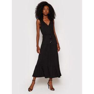 DKNY Letné šaty P1DD0J27 Čierna Regular Fit vyobraziť