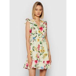 Rinascimento Letné šaty CFC0103754003 Béžová Regular Fit vyobraziť