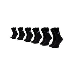adidas Súprava 6 párov členkových ponožiek unisex Cush Crw 6Pp DZ9354 Čierna vyobraziť