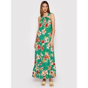 Rinascimento Letné šaty CFC0103452003 Zelená Regular Fit vyobraziť