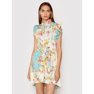 Rinascimento Letné šaty CFC0017933002 Modrá Regular Fit vyobraziť
