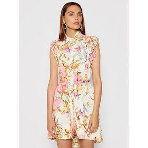 Rinascimento Letné šaty CFC0017933002 Ružová Regular Fit vyobraziť