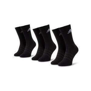 adidas Súprava 3 párov vysokých pánskych ponožiek Cush Crw 3Pp DZ9357 Čierna vyobraziť