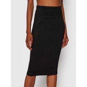 Guess Puzdrová sukňa Anita W1YD0H KAQA2 Čierna Slim Fit vyobraziť