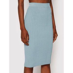 Guess Puzdrová sukňa Agnes W1YD9Z Z2U00 Modrá Slim Fit vyobraziť
