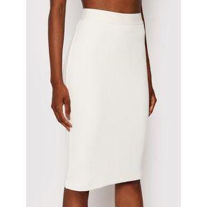 Guess Puzdrová sukňa Amy W1YD98 K8RT2 Biela Slim Fit vyobraziť