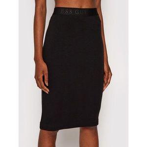 Guess Puzdrová sukňa Amy W1YD98 K8RT2 Čierna Slim Fit vyobraziť