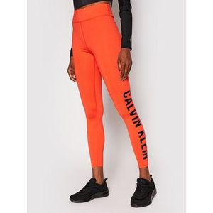 Calvin Klein Performance Legíny Full Lenght 00GWF0L637 Oranžová Slim Fit vyobraziť