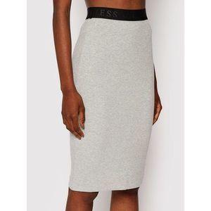Guess Puzdrová sukňa Amy W1YD98 K8RT2 Sivá Slim Fit vyobraziť