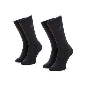 Camel Active Súprava 3 párov vysokých ponožiek unisex 6593 Tmavomodrá vyobraziť