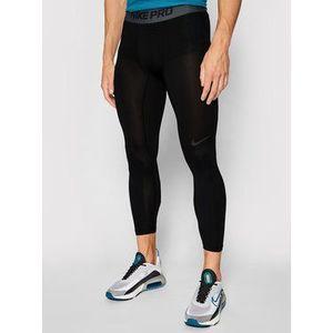 Nike Legíny Pro 3/4 Basketball AT3383 Čierna Tight Fit vyobraziť