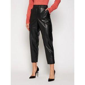 MAX&Co. Nohavice z imitácie kože Danni 67849720 Čierna Regular Fit vyobraziť