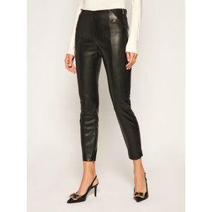 Joop! Nohavice z imitácie kože 58 Jp511 Sara 30023422 Čierna Slim Fit vyobraziť
