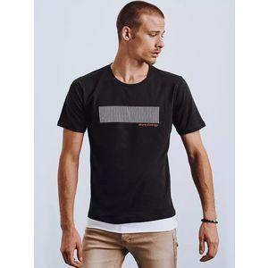 Originálne čierne tričko s potlačou vyobraziť