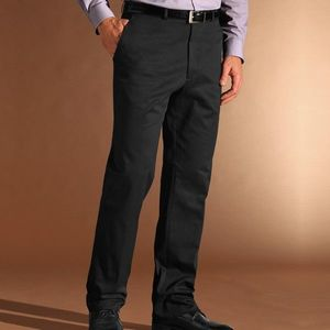 Nohavice Slack, dĺžka nohavíc 77 cm čierna 42 vyobraziť