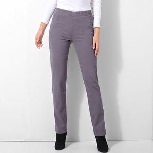 Tvarujúce nohavice, efekt plochého brušk fialovosivá 36 vyobraziť