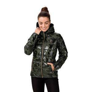 Kaki dámska prešívaná bunda SAM 73 vyobraziť