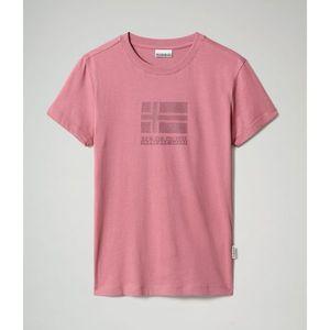 Napapijri Tričko Seoll Mesa Rose vyobraziť