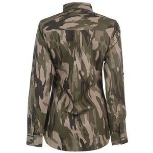Golddigga Long Sleeve AOP Shirt dámske vyobraziť