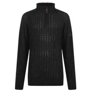 D555 Louie Knit Zip Sweater Mens vyobraziť
