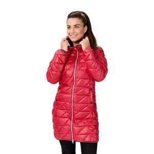 Ružový dámsky prešívaný kabát SAM 73 vyobraziť
