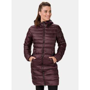 Vínový dámsky zimný prešívaný kabát SAM 73 vyobraziť