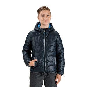 Tmavomodrá chlapčenská prešívaná bunda SAM 73 vyobraziť