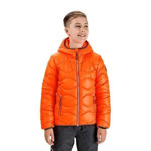 Oranžová chlapčenská prešívaná bunda SAM 73 vyobraziť