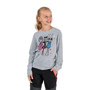 Šedé dievčenské tričko s potlačou SAM 73 vyobraziť