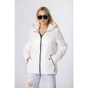 straight cut foil jacket vyobraziť