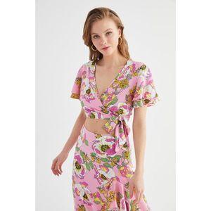 Dámsky komplet Trendyol Floral patterned vyobraziť