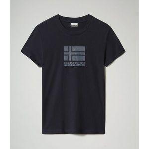 Napapijri Tričko Seoll Blu Marine vyobraziť