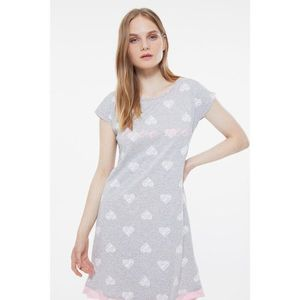 Dámska nočná košeľa Trendyol THMSS21GC0048/GRAY vyobraziť