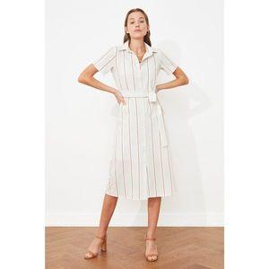 Dámske šaty Trendyol Striped vyobraziť