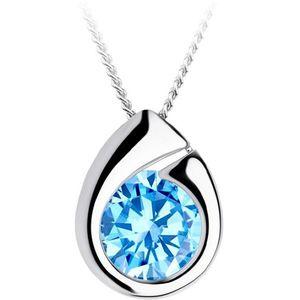 Preciosa Strieborný náhrdelník WISP 5105 67 (retiazka, prívesok) vyobraziť