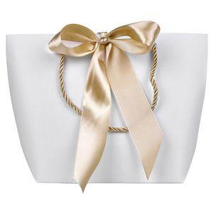 Troli Darčeková taška so zlatou stuhou S vyobraziť