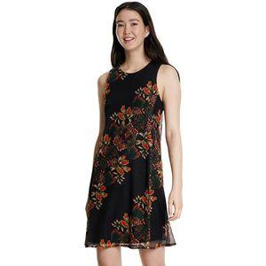 Desigual Dámske šaty Vest Papi llon Negro 20SWVK83 2000 S vyobraziť
