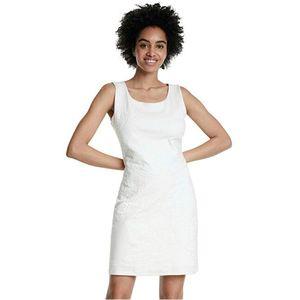 Desigual Dámske šaty Vest Houston Blanco 20SWVK56 1000 XS vyobraziť