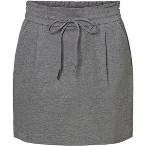 Vero Moda Dámska sukňa VMEVA 10225936 Medium Grey Melange S vyobraziť