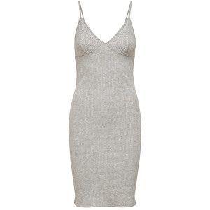 ONLY Dámske šaty ONLHOLLIE 15204164 Light Grey Melange S vyobraziť