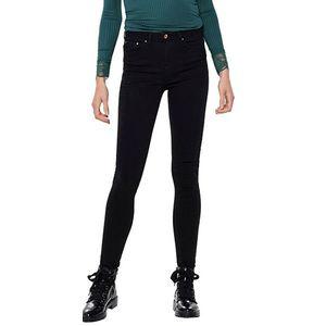 ONLY Dámske skinny džínsy ONLPAOLA 15167410 Black Denim XS/32 vyobraziť
