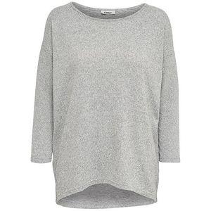 ONLY Dámske tričko ONLELCOS 15124402 Light Grey Melange S vyobraziť